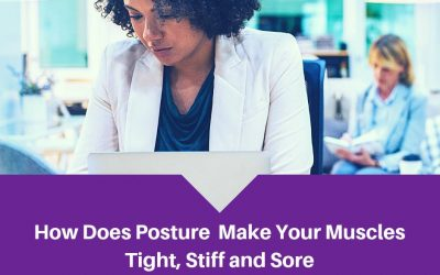 How Does Posture Make Your Muscles Tight, Stiff, and Sore?