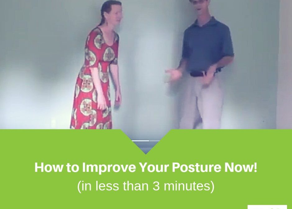 How to Correct Your Posture (Standing)